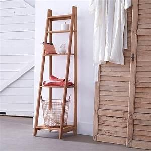 Rangements Salle De Bain : 10 rangements pour pimper sa salle de bains marie claire ~ Nature-et-papiers.com Idées de Décoration