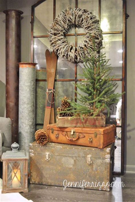stunning rustic christmas decor ideas