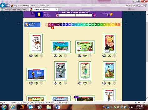 Mrs Richards 1st Grade Raz Kids Reading