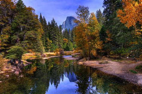 Mountain In Yosemite National Park