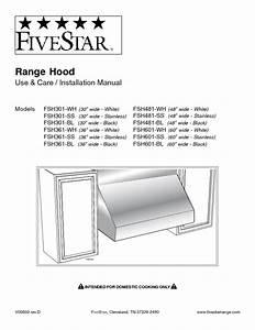 Fsh361-bl Manuals