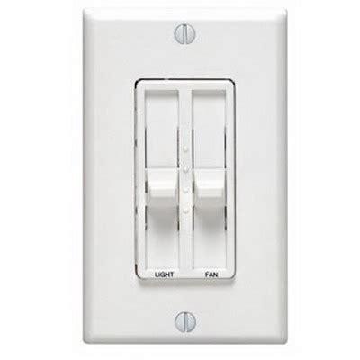 fan light combo switch leviton 6630 t sureslide electro mechanical combo fan