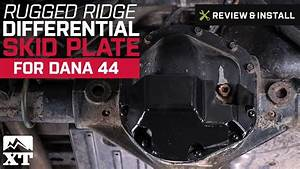 Jeep Wrangler Rugged Ridge Differential Skid Plate