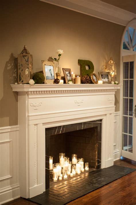 Best 25 Wedding Fireplace Decorations Ideas On Pinterest