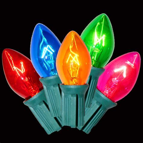 incandescent christmas lights c7 christmas lights
