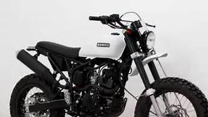 The New Tracker 125 - Born Motorcycle Co