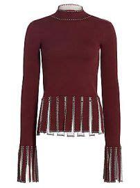 wornontv jeannies marlot fringed top  skirt