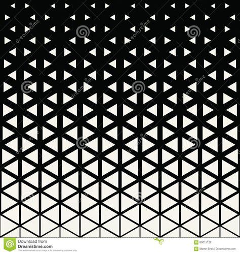 Abstract Geometric Black And White Deco Art Print Halftone