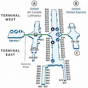 Denver International  Den  Airport Map
