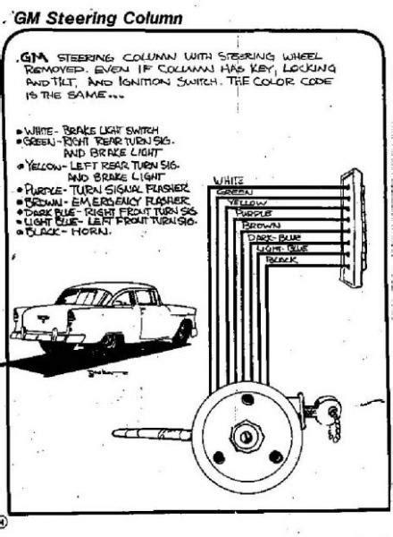 wiring diagram      gm steering