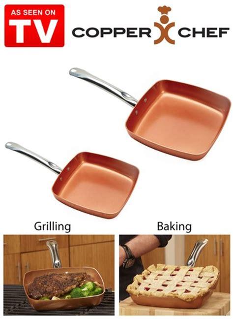 copper chef square pan set carolwrightgiftscom