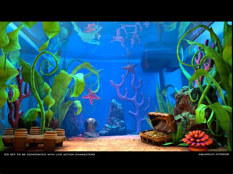 Animated Fish Tank Wallpaper Windows 7 - animated fish aquarium desktop wallpapers wallpapersafari