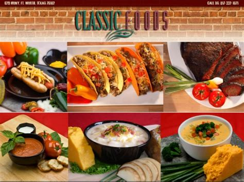 classical cuisine custom formulations foods