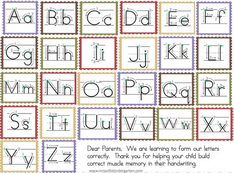 images  letter formation activities