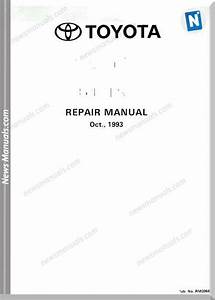 Toyota Engine 3s Fe Service Repair Manual