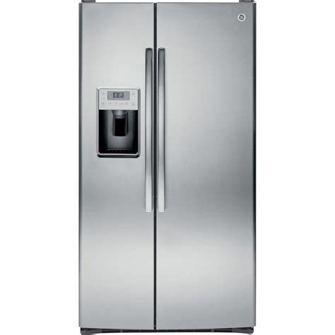 ge profile  cu ft side  side refrigerator  stainless steel psskshss  home depot
