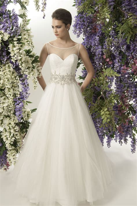 dress jade daniels fall  bridal collection style