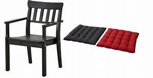 Coussin Palette Ikea : fauteuil jardin angso coussins rouge noir ikea ~ Teatrodelosmanantiales.com Idées de Décoration