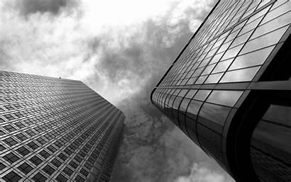 Building Skyscraper Architecture Desktop Monochrome Wallpapers Buildings