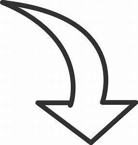 Arrows curved arrow clipart - Clipartix