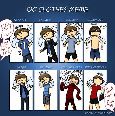 Meme Clothing - oc clothes meme by whatevercat on deviantart