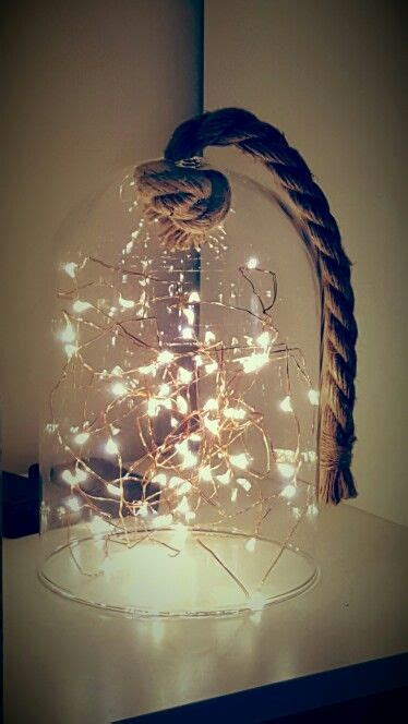 kmart twinkle lights and the rope bell jar room ideas