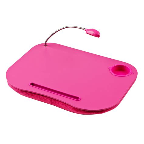 lap desk led light battery operated padded writing tray