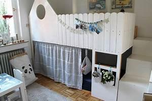Ikea Bett Kinderzimmer : kinderzimmer makeover mit ikea kura hack home decor kinder bett kinderzimmer und kinder zimmer ~ Frokenaadalensverden.com Haus und Dekorationen