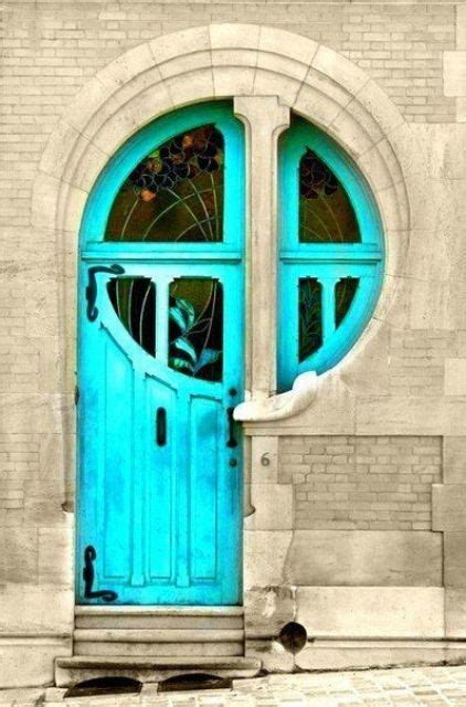 bold front door ideas  bright colors shelterness