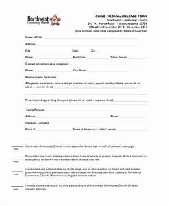 8 Medical Release Form Samples Free Sample Example