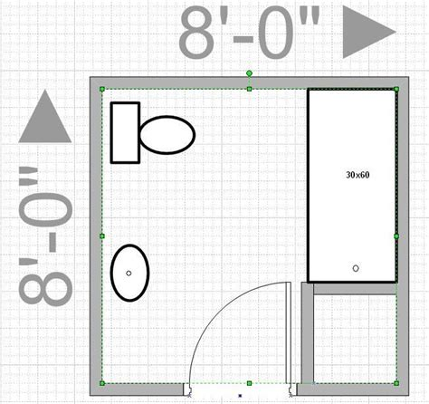 bathroom layout design can i push out my wall to get an 8x8 bathroom leave me