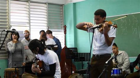 Cuba is a caribbean island nation under communist rule. Cuba 2018 National School of Music. Student performance ...