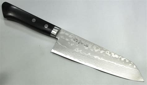 forged japanese kitchen knives gekko forged damascus santoku knife 170mm gh201