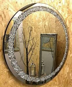 glitzy, diamond, gatsby, round, circular, mirror, 70cm, x, 70cm
