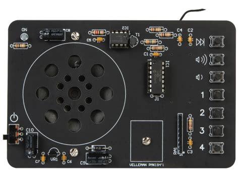 radio fm 88 108 mhz a commande numerique en kit a monter kit electronique ebay