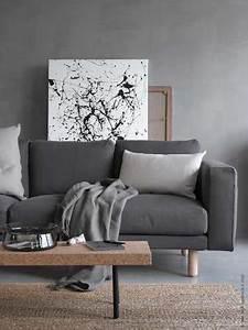 j39aime cette photo sur decofr et vous canape gris With couleur peinture pour salon moderne 8 comment incorporer des couleurs sombres dans votre interieur