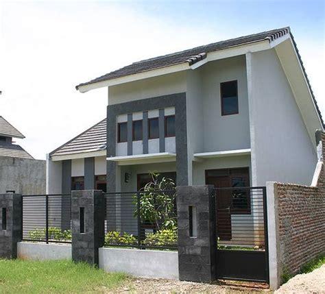desain arsitektur rumah minimalis modern  lantai type