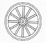 Wheel Wagon Wheels Line Drawing Railroad Scale Template Coloring Diameter Building Sketch Accessory Gr Pixgood Credit Larger Getdrawings sketch template