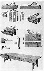 The Project Gutenberg eBook of Woodworking Tools, 1600