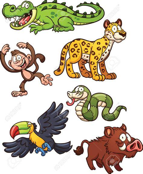 clipart animali giungla clipart clipground