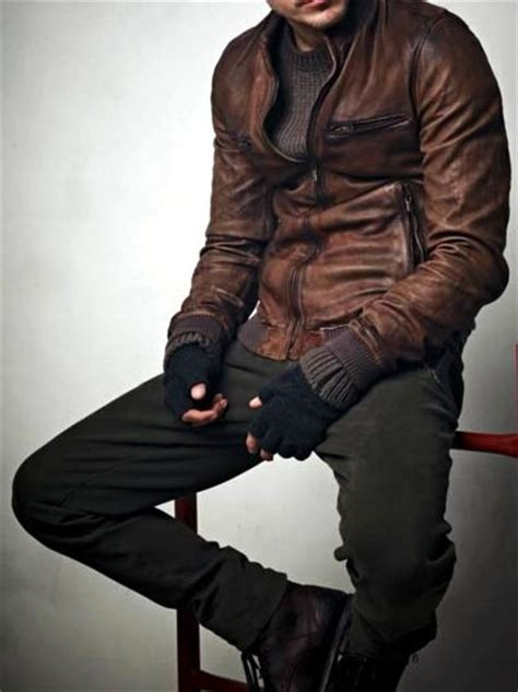 brown biker style 25 best ideas about brown leather motorcycle jacket on