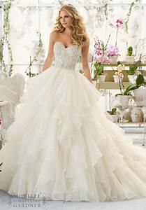 10 strapless wedding dresses 2016 that show your for What wedding dress is right for me