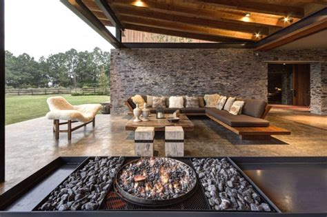 House Patio Designs by Cool Concrete Patio Designs And The Houses They Complement