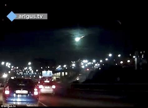 UFO spotted over Siberia but is it a meteor, a Putin ...