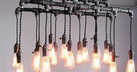 lingkar warna  desain lampu gantung unik  pipa besi