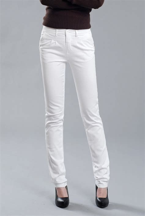 women white pants  Pi Pants