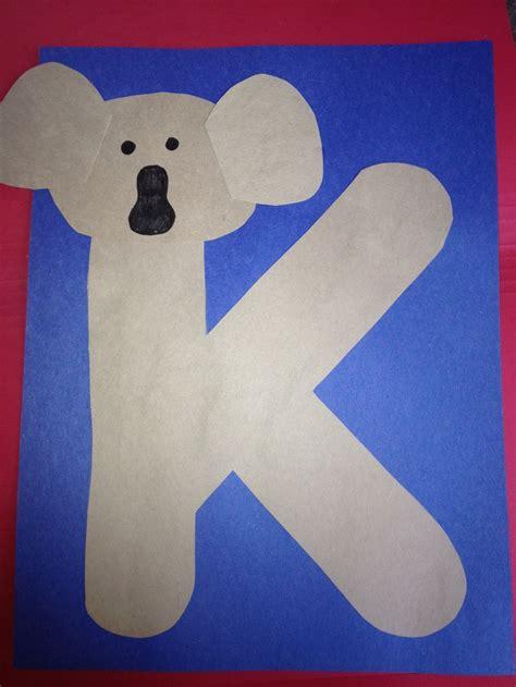 letter k crafts 1000 images about daycare k on preschool