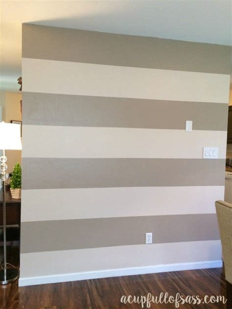 Streifen Auf Wand Malen by How To Paint Wall Stripes Wall Stripes Paint Walls And