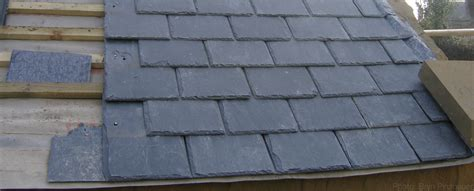 roof slates thin worn out sliding roofing slates