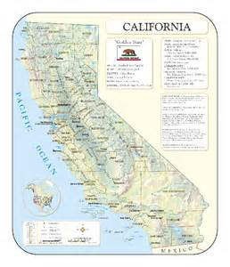 California Map Scale